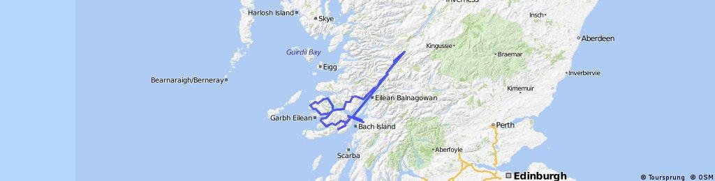 Girolibero: Scozia e il canale di Caledonia