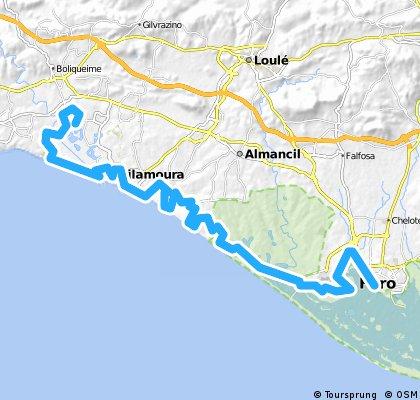 Tivoli- Faro MTB 45km