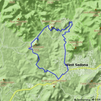 Short Sedona Loop