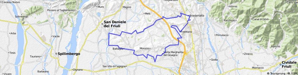 Giro dei Castelli e delle Colline Moreniche del Friuli