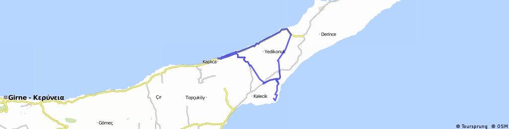 Scooter - Bafra - büyükkonuk - Coastal road - kaplica