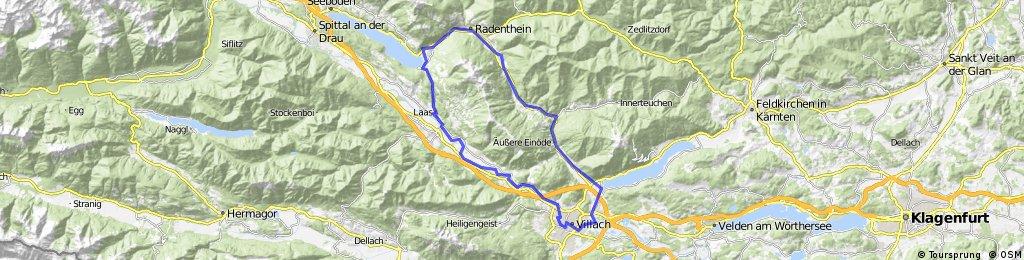 Villach-St Andrä-Millstatter See- Villach