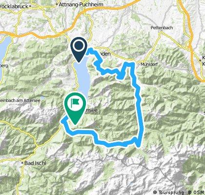 4 Seen-Tour Gmunden, Almsee, Ebensee