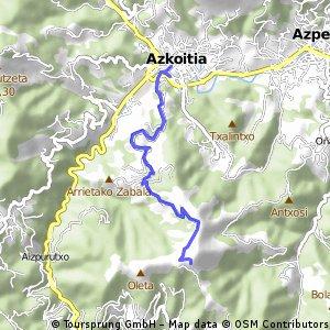 Samiño desde Azkoitia