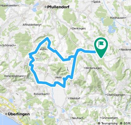 Durch den Salemer Aachtobel nach Heiligenberg