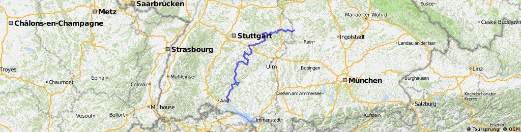Schwäbische Alb-Radweg