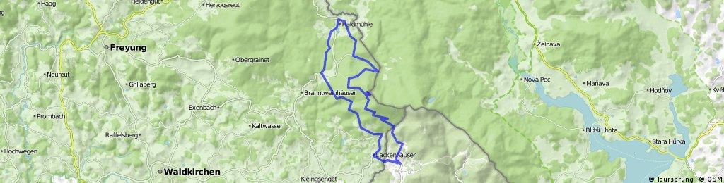 Schwarzenberg - Haidmühle