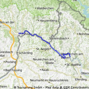 Danube bike trail ll (Passau-Viena) 15-18Aug2013