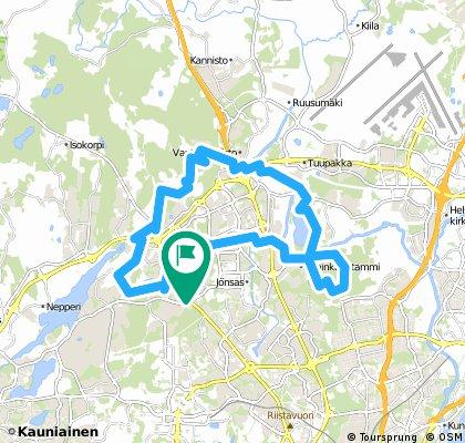 Vapaala-Paloheinä-Silvola-Petikko-Hämeenkylä