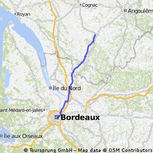 Bordeaux - Barbezieux