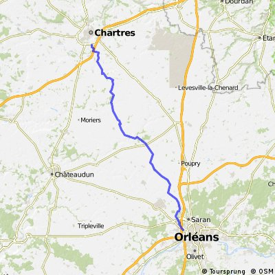 ORLEANS - CHARTRES