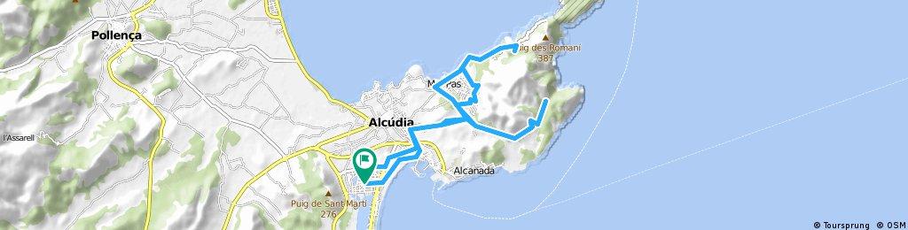 Cap Pinar/ Alcanada