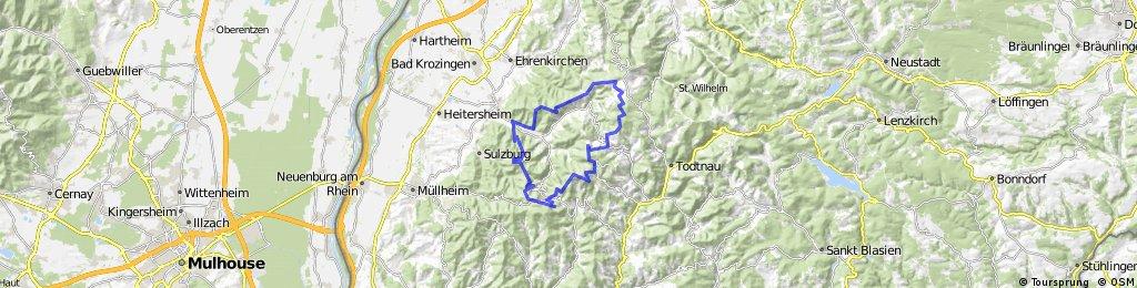 Münstertal-Belchen-Münstertal