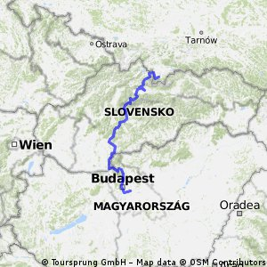 From Budapest to Krakow