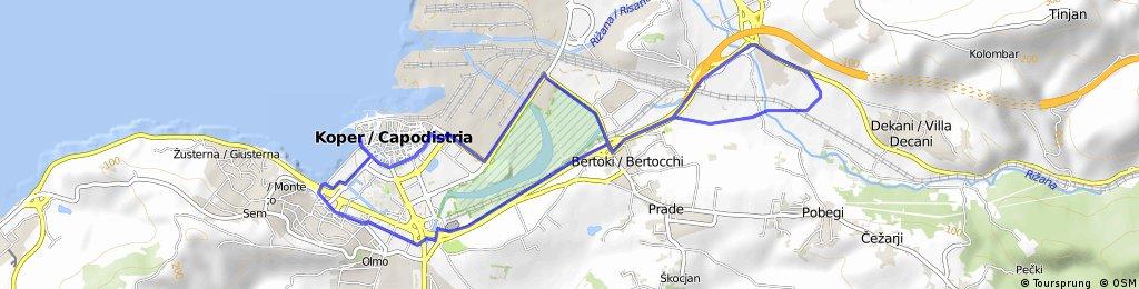 Istrski kolesrski maraton 2016, 17 km