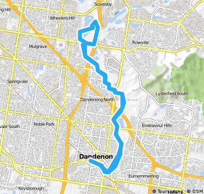 Dandenong To Eastlink Loop