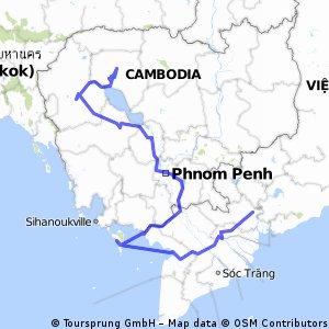 Siem Reap - Ho Chi Minh City