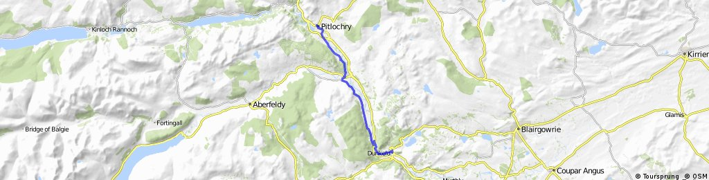 Dunkeld to Pitlochry on NCR7