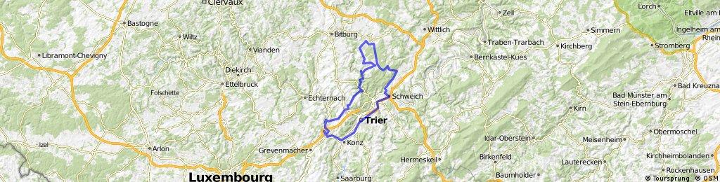 Trier - Speicher - Trier