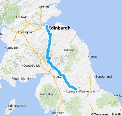 PART 1 - Edinburgh to Middleton- North Sea Loop