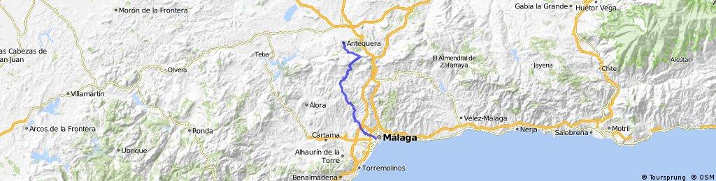 Antequera-Málaga