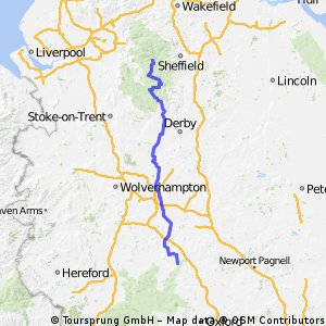 PART 3 - Hope to Cotswolds - North Sea Loop