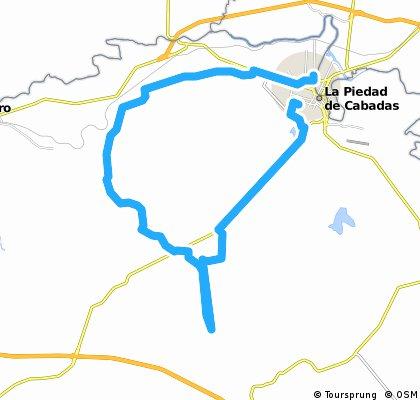 Vuelta al Cerro Grande de La Piedad