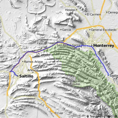 Gran Fondo Monterrey 132 KM Santiago - Saltillo