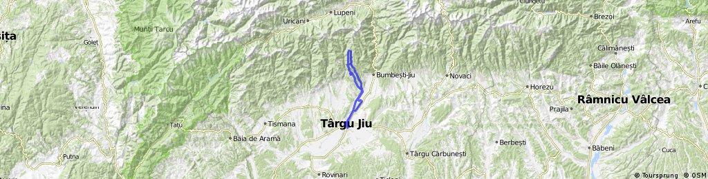 Targu Jiu, Pajistele, Valea Haraborului, Pasul Valcan, Schela , Tg-jiu