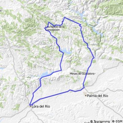 Lora del Río - Hornachuelos - Lora del Río