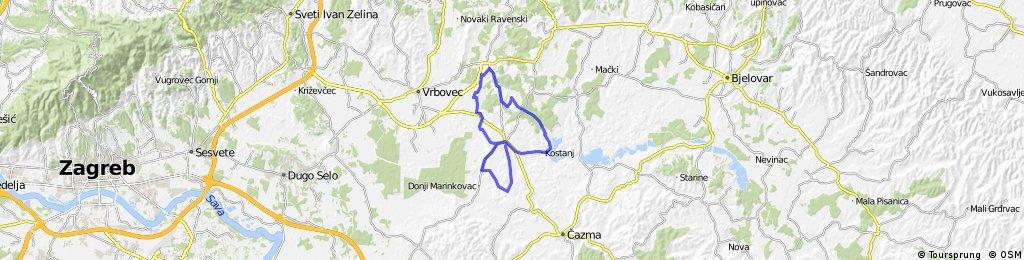 Map 12 — Dubrava – Koritna – Cugovec – Habjanovac – G ...