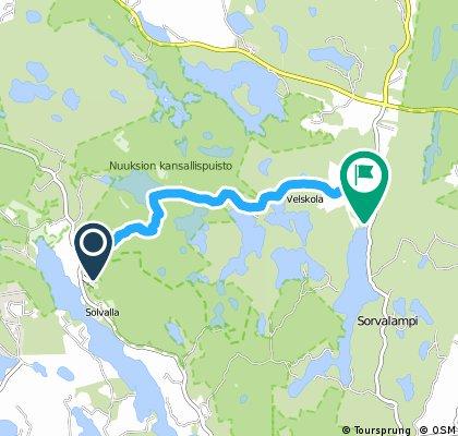 Nuuksio-Velskola-metsäreitti.gpx
