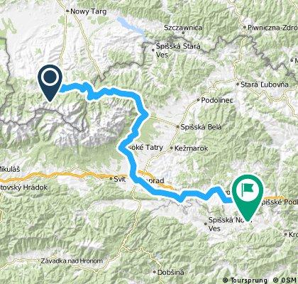 Tour de Karpaty 2015 - dzień 1