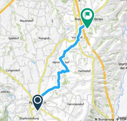 Pettenbach - Ried im Traunkreis (Ortszentren, Umgehung von Hauptverkehrsstraßen)