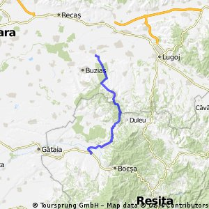 Berzovia - Valeapai - Sacosu Mare - Capat