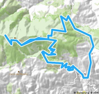 Ohanes- El Buitres- La polarda- Tices- Ohanes