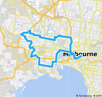 Melbourne to Sunshine Loop