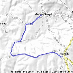 Gergei - San Simone - Mandas