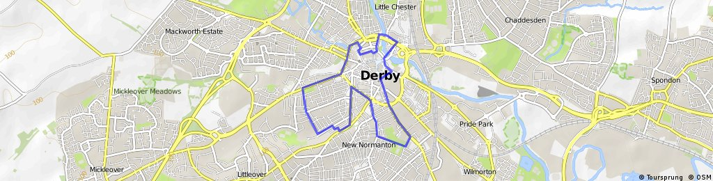 The Derby Promo Route