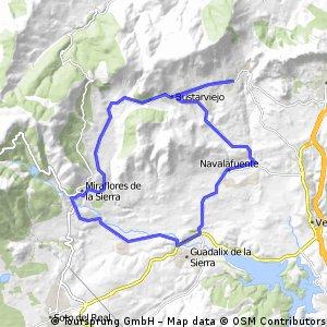 Salidad desde Cerro Matallera/Vuelta Corta