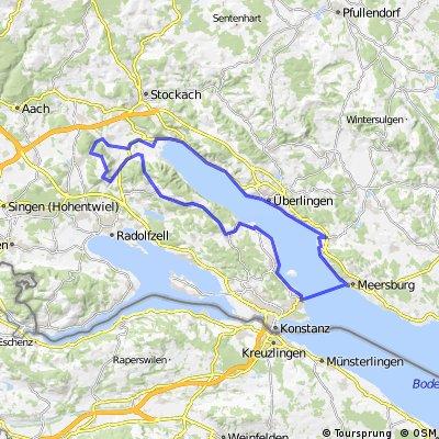 Von Meersburg um den Überlinger See