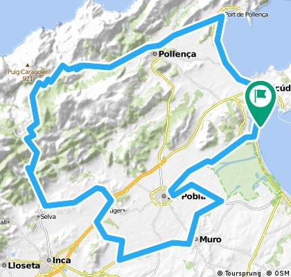 Thomas Cook IRONMAN 70.3 Mallorca - Bike course 2015