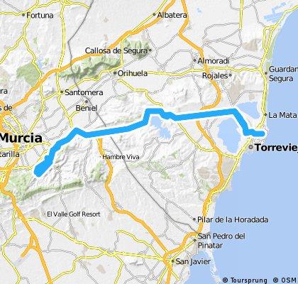 Torrevieja - Cresta del Gallo