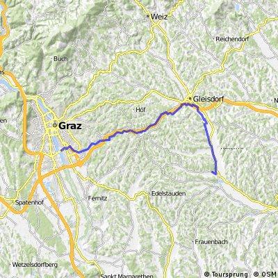Graz-Feldbach Radweg