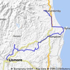 20151130 Lismore to Mullumbimby