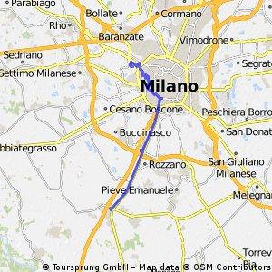 Binasco - Milano montagnetta di San Siro