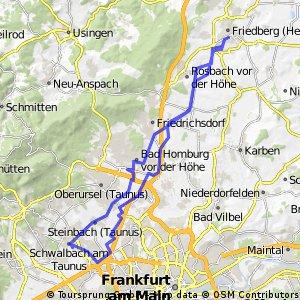 Friedberg <--> Schwalbach