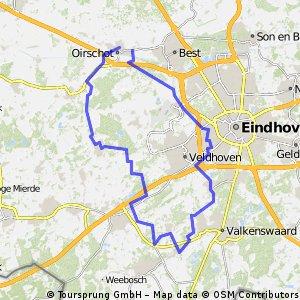 6-12-2015 (zo) Rondje om Westerhoven