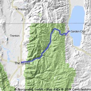 Bear Lake to Ogden