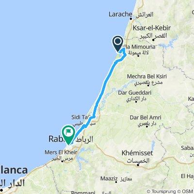 Côte Maroc 08 : Moulay Bousselham – Rabat